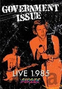Film Government Issue. Live 1985