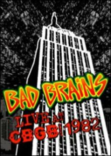 Bad Brains. Live at CBGB 1982 - DVD