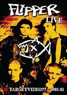 Flipper. Live Target Video 1980-81 - DVD
