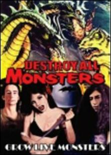 Destroy All Monsters. Grow Like Monsters - DVD