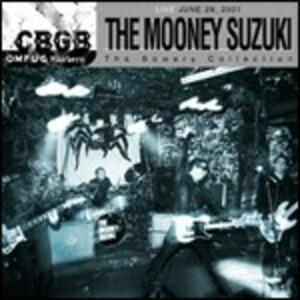 CBGB OMFUG Masters. Live 29-06-2001 - CD Audio di Mooney Suzuki