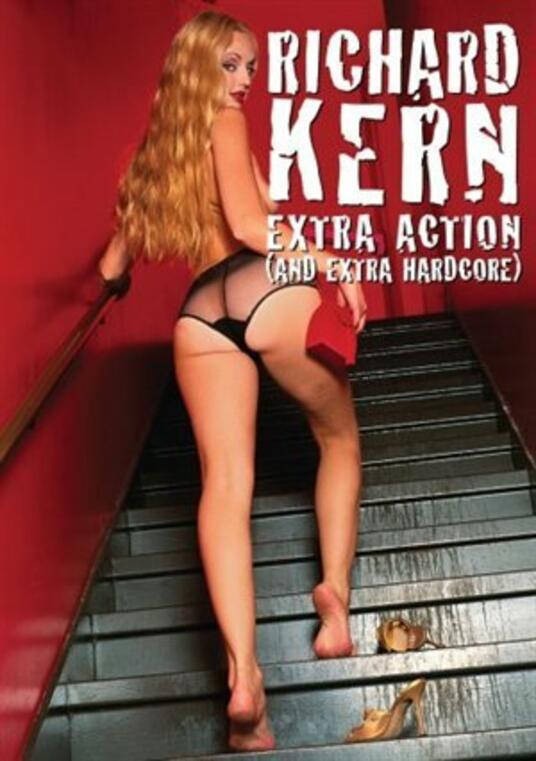 Richard Kern. Extra Action And Extra Hardcore - DVD