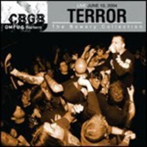 CD CBGB OMFUG Masters. Live 10-06-2004 di Terror