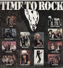 Time To Rock - Vinile LP