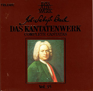 CD Complete Cantatas vol.35 di Johann Sebastian Bach