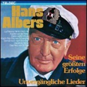 CD Unvergaengliche Lieder di Hans Albers