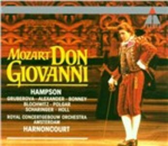 CD Don Giovanni di Wolfgang Amadeus Mozart