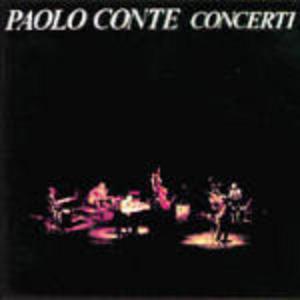 CD Concerti di Paolo Conte