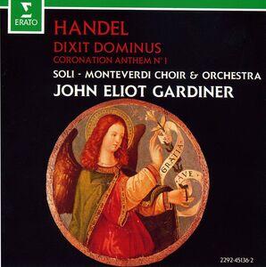 CD Dixit Dominus di Georg Friedrich Händel