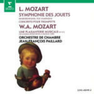 Sinfonia dei giocattoli / Scherzo K522 - CD Audio di Wolfgang Amadeus Mozart,Leopold Mozart