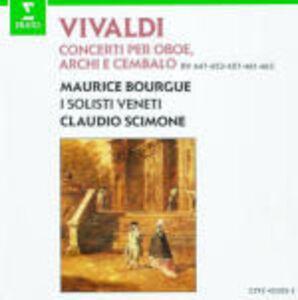 CD Concerti per oboe di Antonio Vivaldi