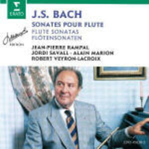 Foto Cover di Sonate per flauto BWV1013, BWV1030, BWV1031, BWV1033, BWV1034, BWV1039, CD di Johann Sebastian Bach,Jean-Pierre Rampal, prodotto da Erato