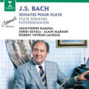 CD Sonate per flauto BWV1013, BWV1030, BWV1031, BWV1033, BWV1034, BWV1039 di Johann Sebastian Bach