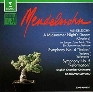 CD Orch. Works di Felix Mendelssohn-Bartholdy