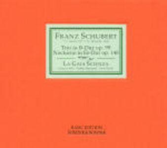 CD Trio op.99 - Notturno op.148 di Franz Schubert