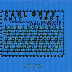 CD Ante Post di Carl Orff