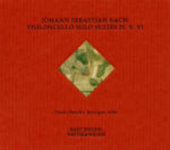 Suites per violoncello n.4, n.5, n.6 - CD Audio di Johann Sebastian Bach,Paolo Beschi
