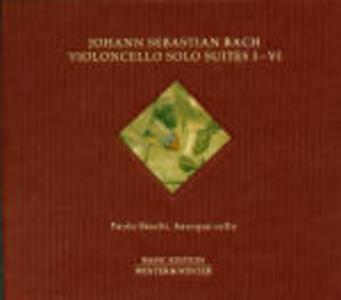 Suites per violoncello - CD Audio di Johann Sebastian Bach,Paolo Beschi