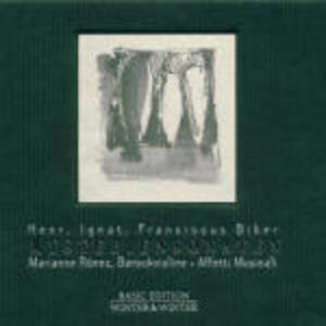 Mysteriensonaten - CD Audio di Heinrich Ignaz Franz Von Biber