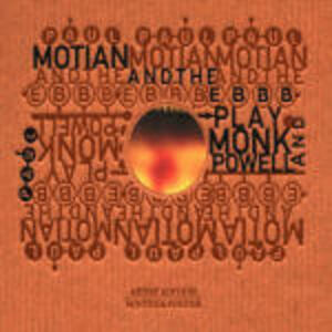 Play Monk and Powell - CD Audio di Paul Motian