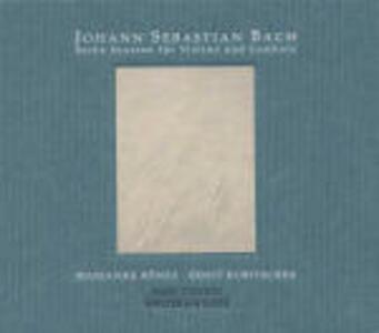 Sonate per violino e clavicembalo - CD Audio di Johann Sebastian Bach