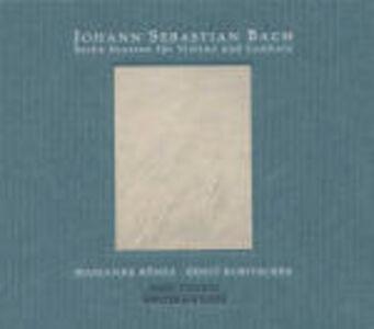 CD Sonate per violino e clavicembalo di Johann Sebastian Bach