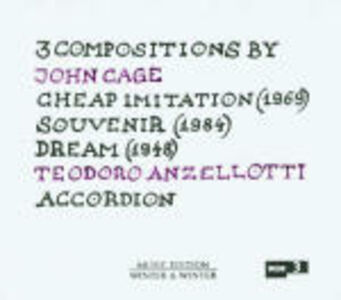 CD 3 Compositions by John Cage