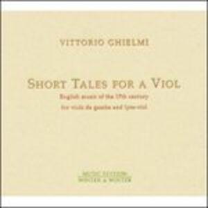 CD Short Tales for a Viol
