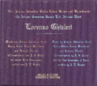 CD Bachs Leben, Kunst und Kunstwerke