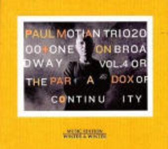 CD On Broadway vol.4 di Paul Motian (Trio)