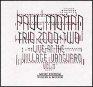 CD Live at the Village Vanguard vol.2 di Paul Motian (Trio 2000 + Two)