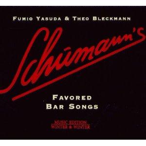 CD Schumann's Favored Bar Songs Fumio Yasuda , Theo Bleckmann