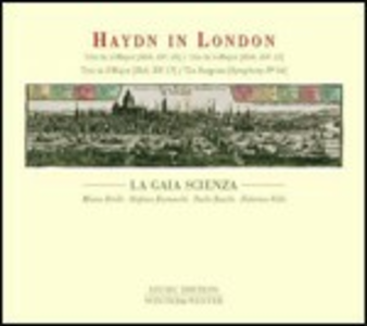 CD Haydn in London di Franz Joseph Haydn