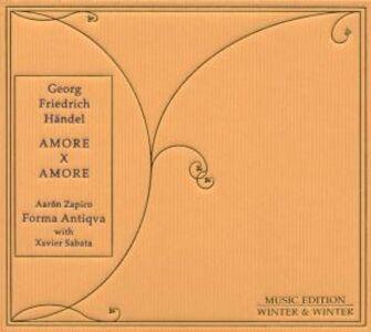Foto Cover di Amore per amore, CD di AA.VV prodotto da Winter & Winter