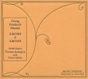 CD Amore per amore di Georg Friedrich Händel