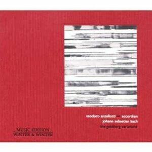 The Goldberg Variations - CD Audio di Teodoro Anzellotti