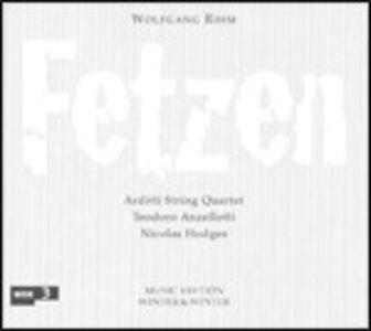 CD Fetzen di Wolfgang Rihm