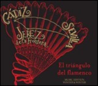 El triangulo del flamenco - CD Audio