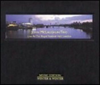 CD Live at the Royal Festival Hall, London di John McLaughlin (Trio)
