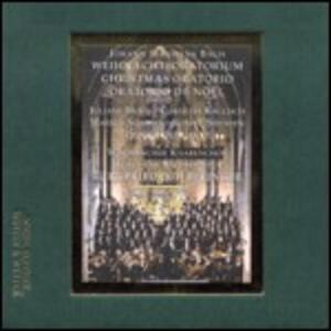 Oratorio di Natale (Weihnachts-Oratorium) - CD Audio di Johann Sebastian Bach,Windsbacher Knabenchor,Münchner Bachsolisten,Karl-Friedrich Beringer