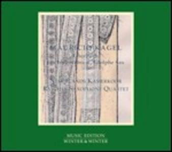 CD Chorbuch - Les inventions d'Adolfe Sax di Mauricio Kagel