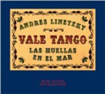 CD Las huellas en el mar Vale Tango , Andres Linetzky
