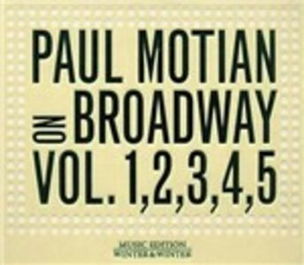 CD On Broadway vols. 1, 2, 3, 4, 5 di Paul Motian