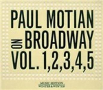 CD On Broadway vols. 1, 2, 3, 4, 5 di Paul Motian