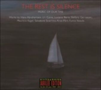 CD The Rest Is Silence di Hans Abrahamsen