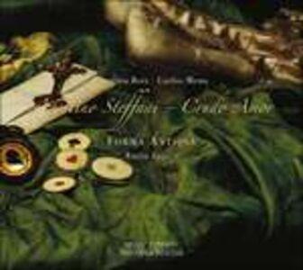 Foto Cover di Crudo amor, CD di Agostino Steffani,Forma Antiqva, prodotto da Winter & Winter