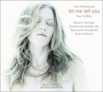 Foto Cover di Let Me Tell You, CD di Hans Abrahamsen, prodotto da Winter & Winter