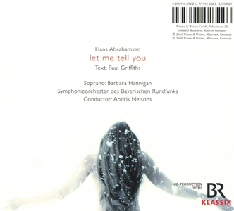 CD Let Me Tell You di Hans Abrahamsen 1