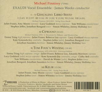 Michael Finnissy Vocal Works 1974-2015 - CD Audio di Michael Finnissy,Exaudi Vocal Ensemble - 2