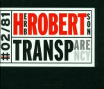 Transparency - CD Audio di Herb Robertson